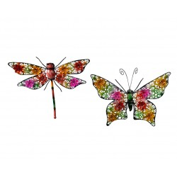 Libélula / mariposa,  hierro
