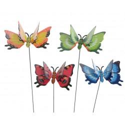 Pincho mariposa 11cm,...