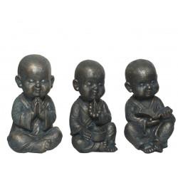 Monjes sentados