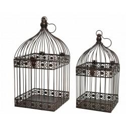 Set 2 jaulas pájaros,...