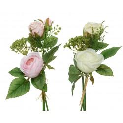Bouquet de rosas de poliester