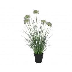 Allium artificial en maceta