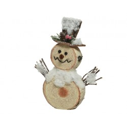 Muñeco nieve 24 cm, cartón