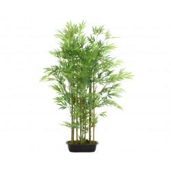 Cerca de bambú artificial...