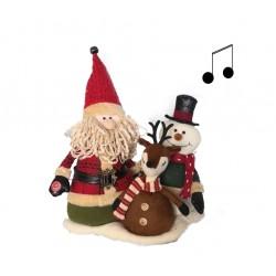 Grupo Papá Noel con música...