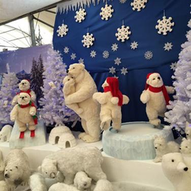 Figuras de Navidad en Movimiento de gran tamaño