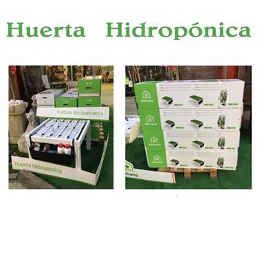 Huerta hidropónica