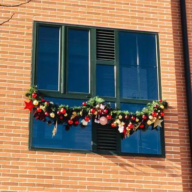 Decoración de Navidad oficina