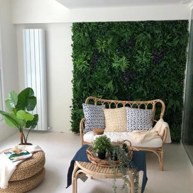 Panel verde