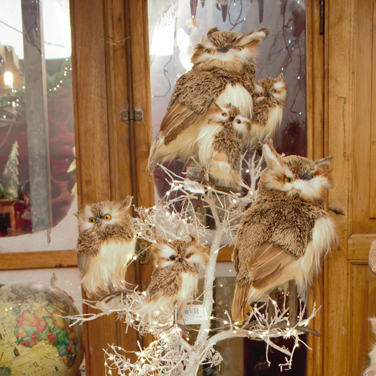 Búhos Navidad
