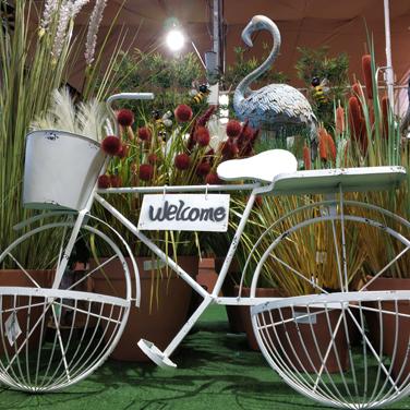 Bicicleta para jardín